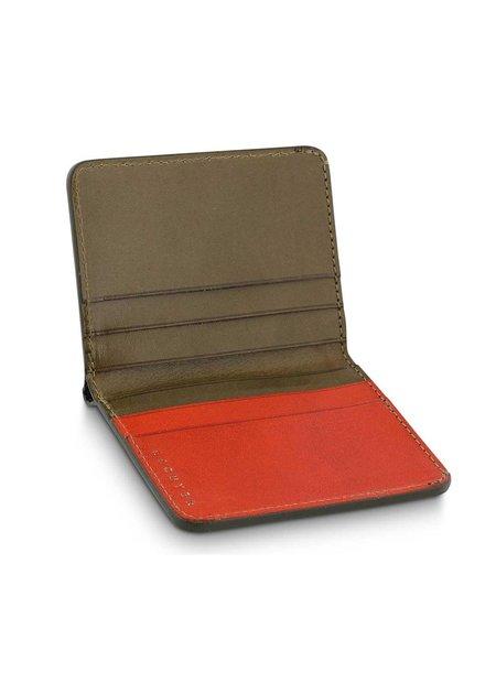 Escuyer Slim-Wallet - Khaki & Orange