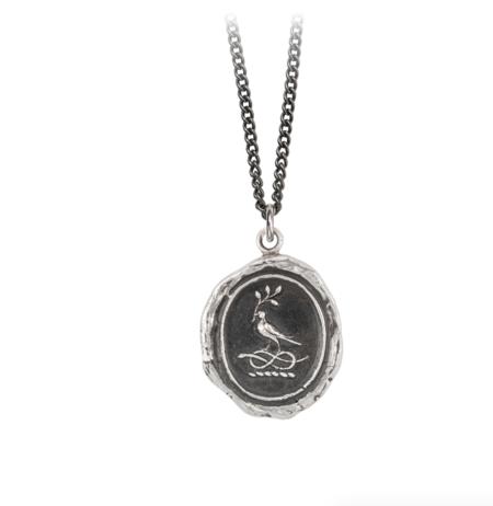 Pyrrha Everlasting Love Talisman - Sterling Silver