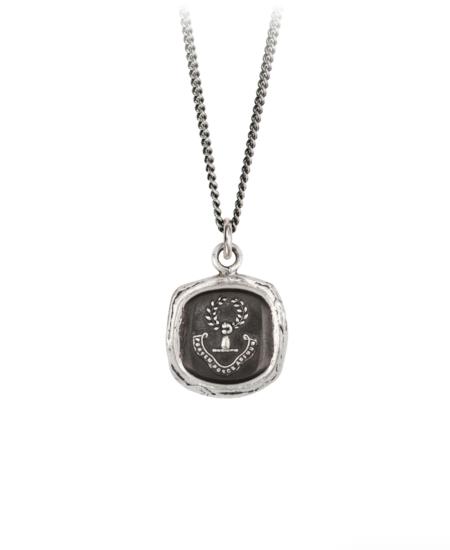 Pyrrha Inner Strength Talisman - Sterling Silver