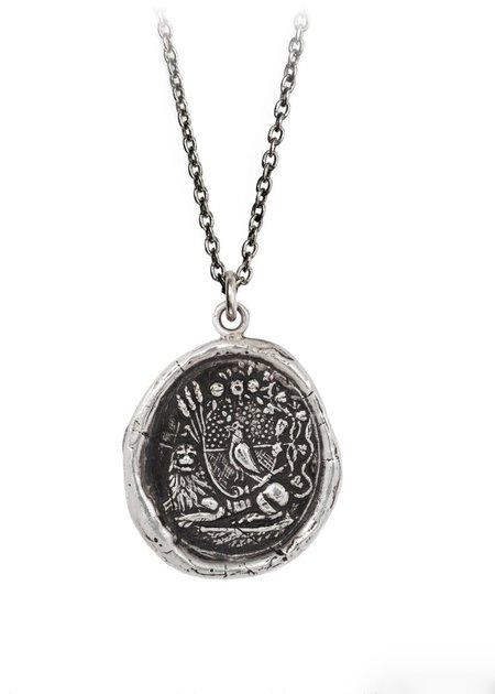 Pyrrha Self Assurance Talisman - Sterling Silver