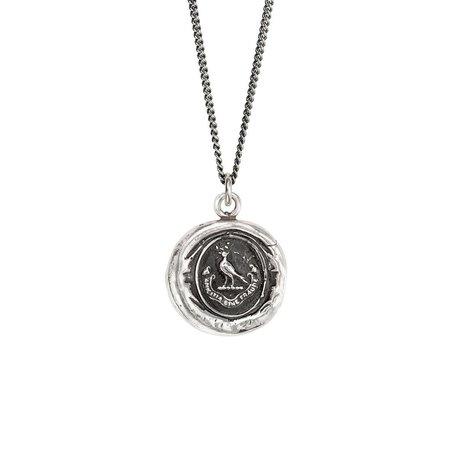 Pyrrha True Friendship Talisman - Silver