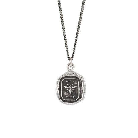 Pyrrha Vite Talisman - Silver