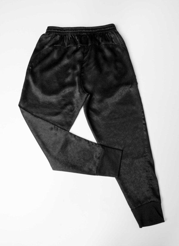 Berenik PANTS - STRING BLACK SHINY
