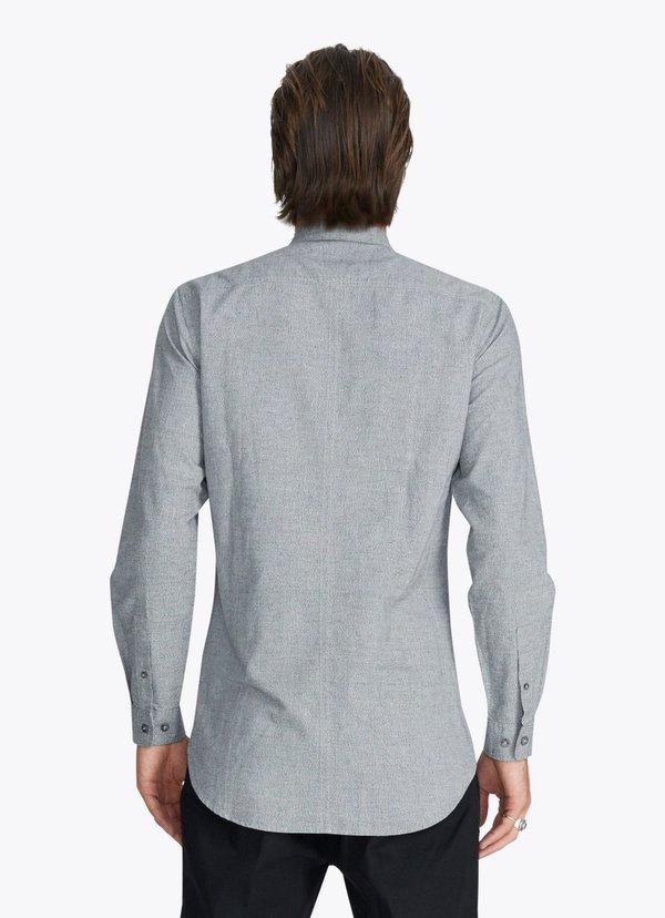 Men's Zanerobe Tuck 7ft LS Shirt Static Marle