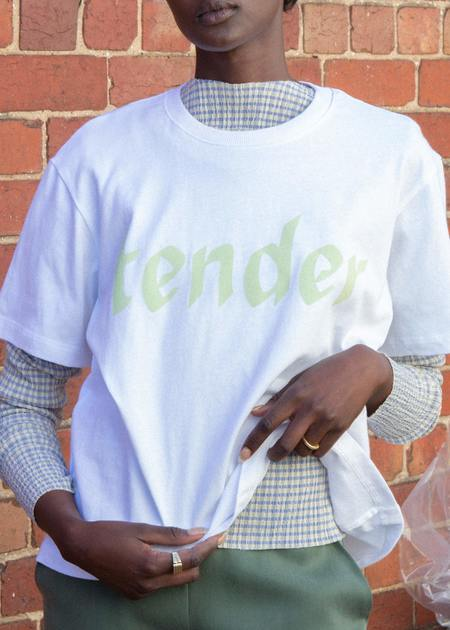 permanent vacation Tender Tee - Lime