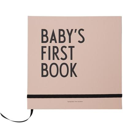 Design Letters Baby's First Book + Milestone Cards