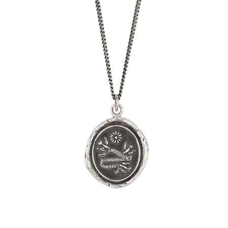 Pyrrha Sisterhood Talisman - Silver