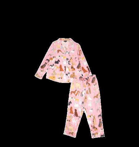 Karen Mabon Crufts Pyjama Set - Pink