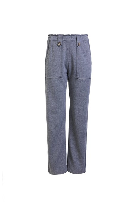 Else Frankie High Waisted Lounge Pants - Heather Grey