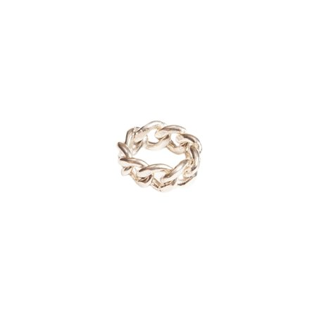 Harp XX Chain Ring - Sterling Silver