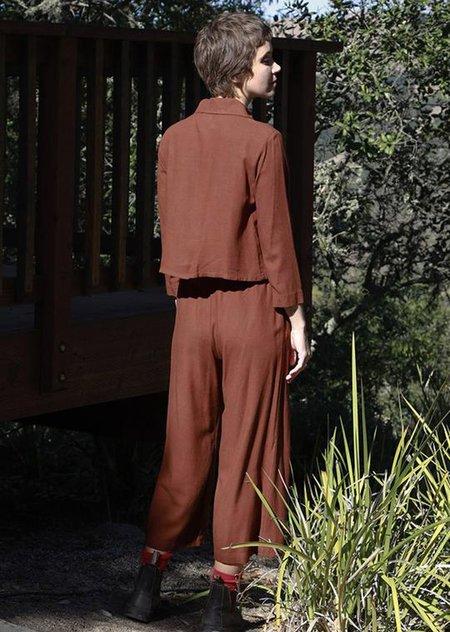 Me & Arrow Wide Pants - Canyon Brown