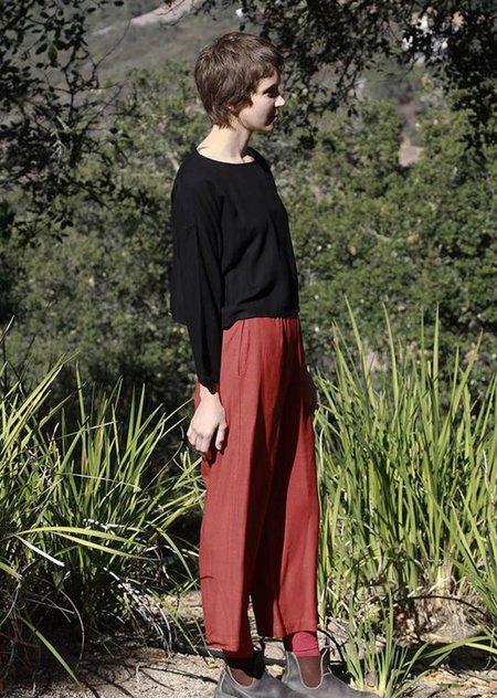 Me & Arrow Wide Pants - Rustic Red