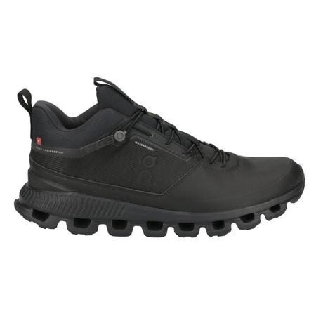 ON Running Cloud Hi Waterproof - All Black
