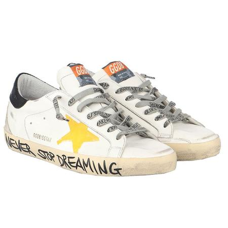 Golden Goose Superstar Leather Upper Print Star Signature Foxing sneakers - Multi