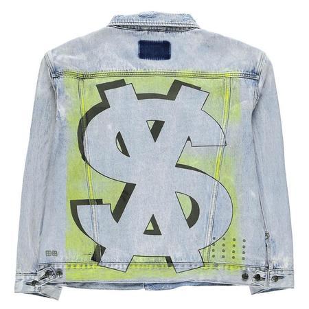 Ksubi Oh G Stoked Neon Jacket - Denim
