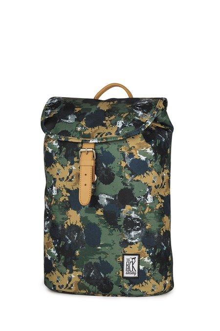 Unisex Solid Black Rucksack Backpack - Camo