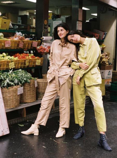 Xevi Fernandez Maoist Suit - Olive