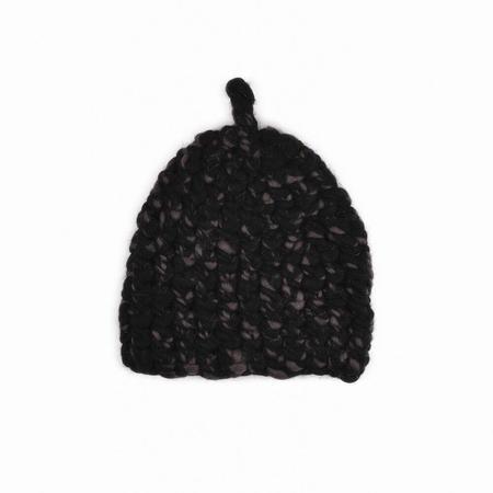 Mischa Lampert store blend sparkle nip beanies - Black carbon