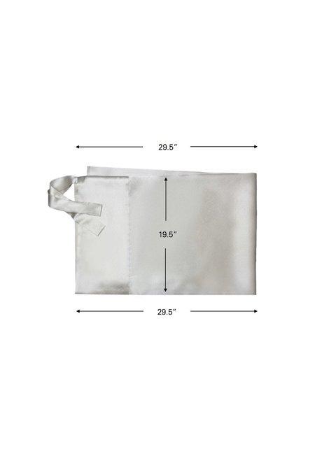 KES Moonlight Set Silk Pillowcase Sleep Mask - Mauve