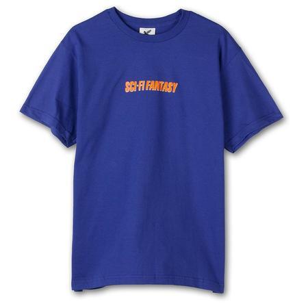 Sci-Fi Fantasy Fast T-shirt - Cobalt