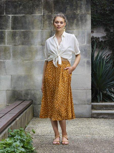 Billie Rose Penelope Skirt - Burnt orange