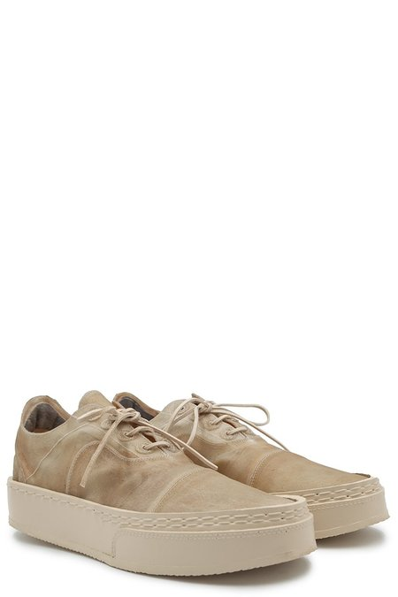Eric Payne Apparition Translucent Leather Sneakers - Cream