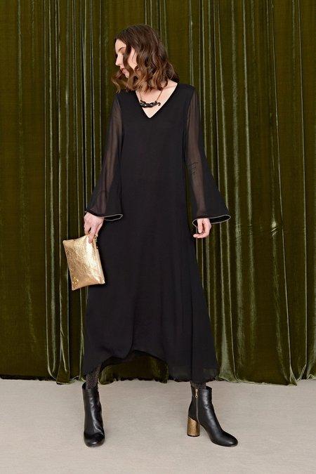 Ottodame Stevie Nicks Dress - Black