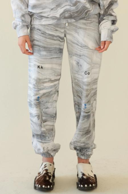 UNISEX KkCo Sweatpants - Marble Dye