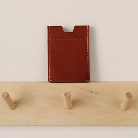 Salix Pond Accordion Card Case - Cuoio
