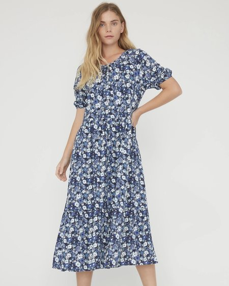 Lacausa Cass Dress - Sapphire Floral