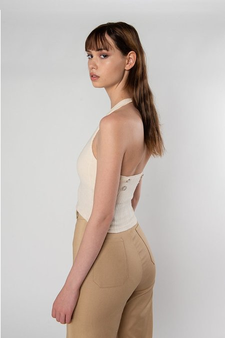 Limb The Label Carla Top - Cream