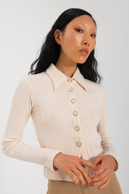 Limb The Label Sylvie Long Sleeve - Cream