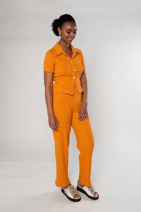 Limb The Label Sylvie Short Sleeve - Orange