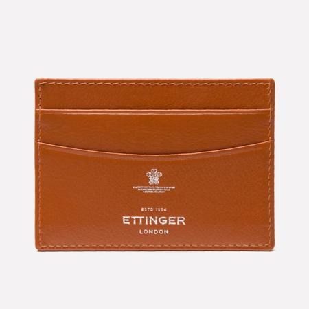 Ettinger Capra Card Holder - Tan