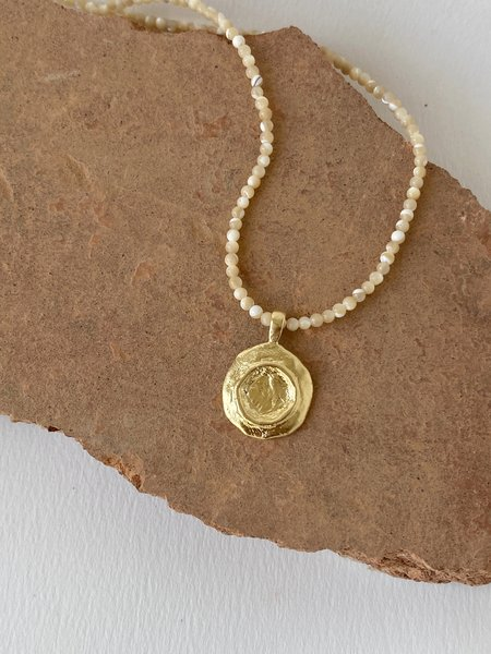 Mercurial NYC Cleo Necklace - 14K Gold Plated