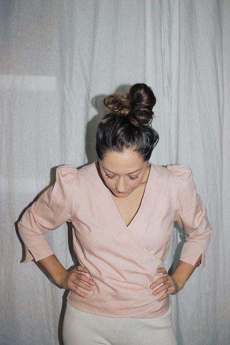 Ajaie Alaie It's A Wrap! Blouse - Rosa