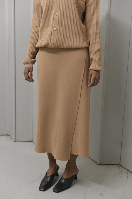 The Bibio Project Yao Wrap Skirt - Sand
