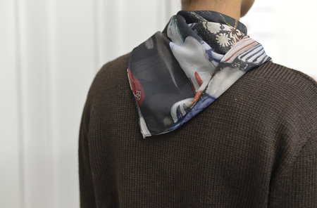 The bibio project COLLECTOR SCARF - multi