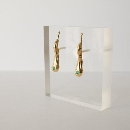 Merewif Estelle Earrings - gold plated