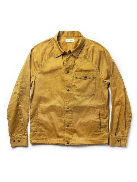 Taylor Stitch The Lombardi Jacket - Mustard Dry Wax