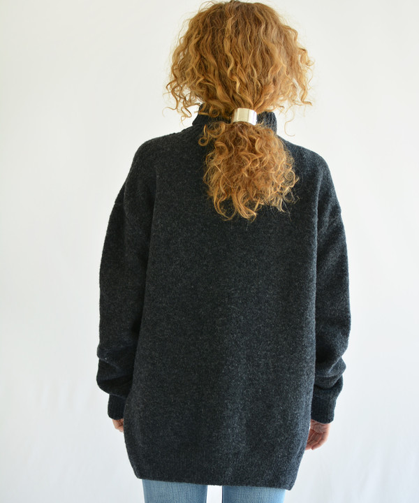 Nanushka Motta Charcoal Turtleneck
