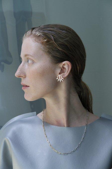 PAR ICI Jewellery Half Sun Earrings