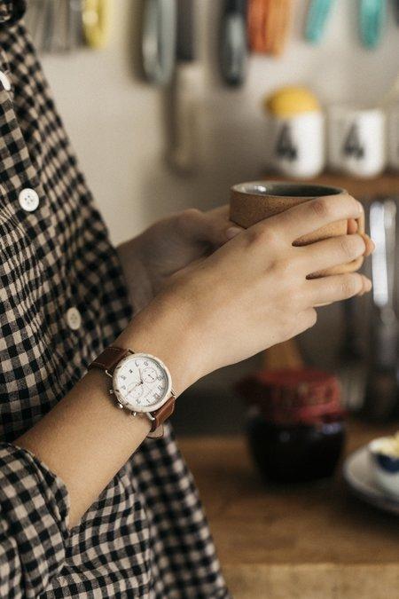 The Horse Mini Resin Chronograph Watch - Tan