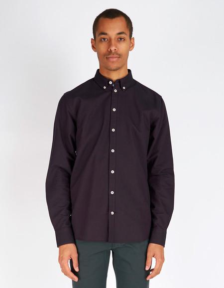Men's Minimum Chris Shirt Plum Perfect