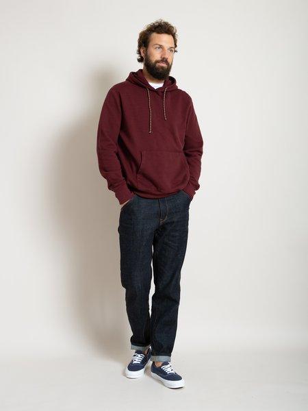 Freemans Sporting Club Hooded Sweatshirt - Burgundy
