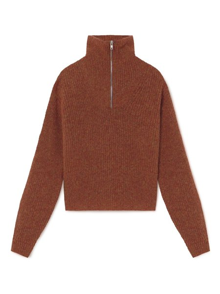 Unisex Paloma Wool Cero Half Zip Sweater