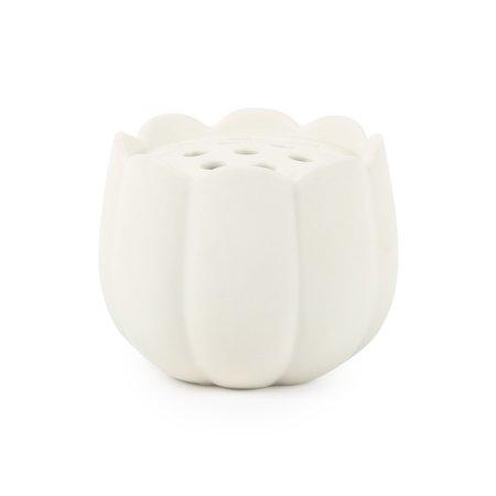 THE FLORAL SOCIETY Ceramic Flower Frog Vase