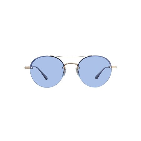 Garrett Leight Beaumont Sunglasses - Blue Magic