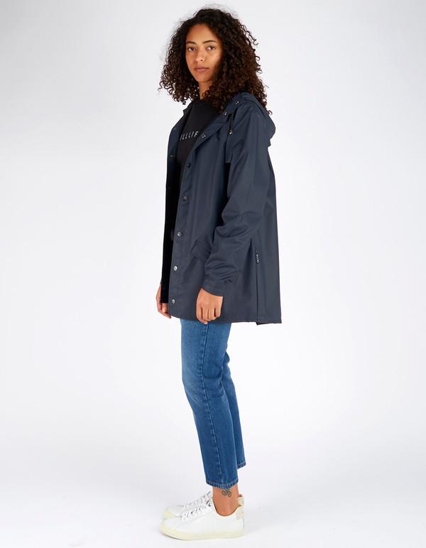 Rains Jacket Women's Blue
