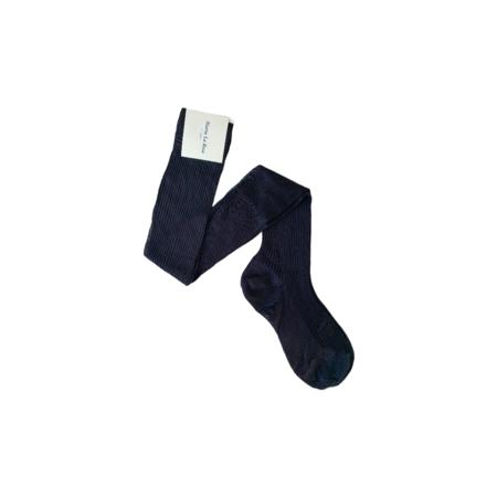 Maria La Rossa Silk Over The Knee Ribbed Sock